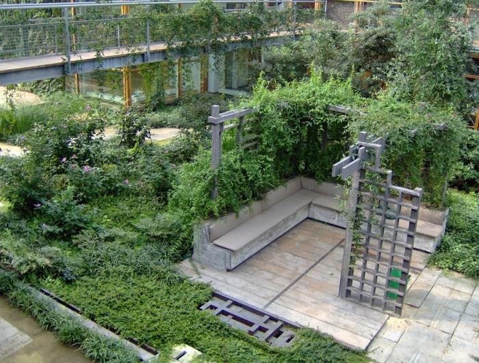Indoor Courtyard Alterra Wageningen The Neherlands